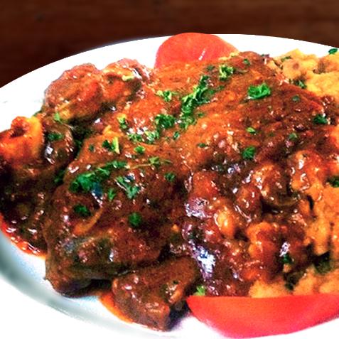 Umngqusho with Lamb Knuckle Stew